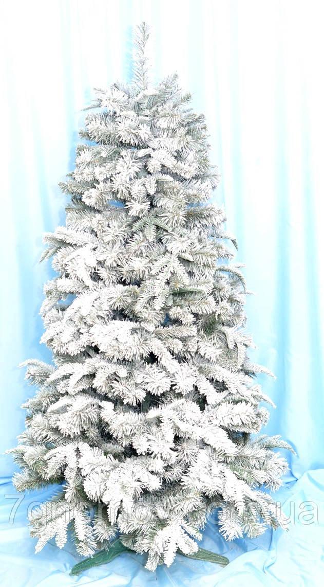Искусственная елка Премиум заснеженная 1.10 литая/ПВХ
