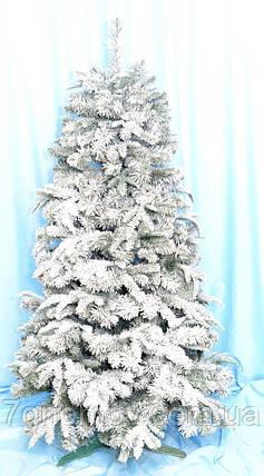 Искусственная елка Премиум заснеженная 1.10 литая/ПВХ, фото 2