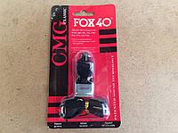 Свисток судейский Fox-40 пластик Classic на шнурке