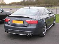 Спойлер сабля тюнинг Audi A5 Coupe