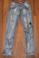 Мега стильные джинсы для девочки Grace р.116-128