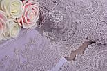 Кружево  Блюмарин с веерным узором, цвет сиреневый, 14 см., фото 4