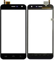 Сенсорный экран Ergo A500 черный (тачскрин, стекло в сборе)