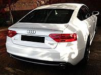 Спойлер сабля тюнинг Audi A5 Sportback стиль S line