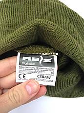 Шапка военная с отворотом Reis олива, фото 3