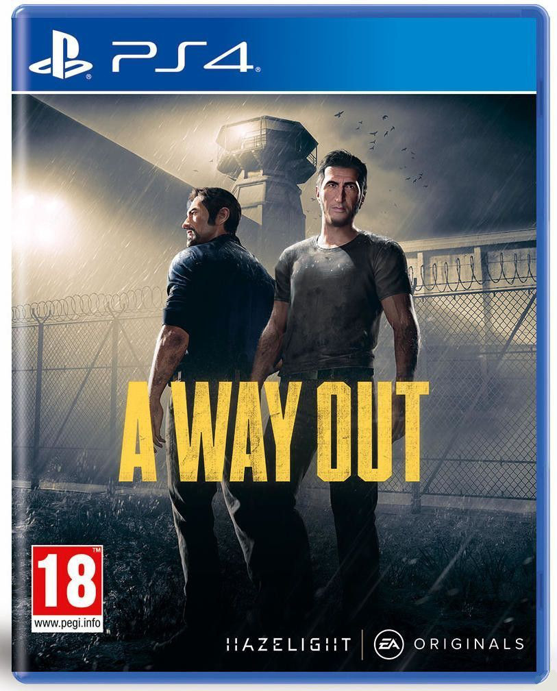 Игра PS4 A Way Out для PlayStation 4