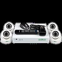 Набор камер наблюдения Green VisionGV-K-S12/04 1080P