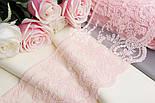 Кружево  Блюмарин с мелкими цветочками светло-розового цвета с хлопковой нитью, 14 см., фото 2