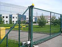 "Распашные  калитки, ворота ""Класик-LX""  2030х4000"