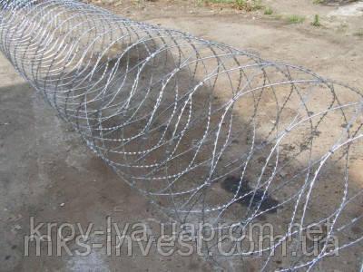 """Спиральный барьер безопасности d-600 (5 скоб) - интернет- магазин """"Любая кровля"""" в Одессе"""