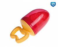 Ниблер красный (сеточка для прикорма), Canpol babies