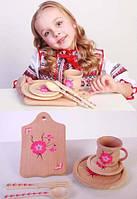 """Набор детской посуды      """"МАМИНА ПОМОШНИЦА!"""", фото 1"""