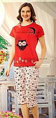 Летние пижамы с капри оптом
