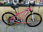 Горный велосипед Winner Stella 27.5 дюймов розовый, фото 2
