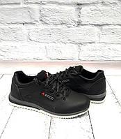 Туфли-кроссовки подростковые Ecco кожаные черные 0017ЕМ 62ac4ada8b48a