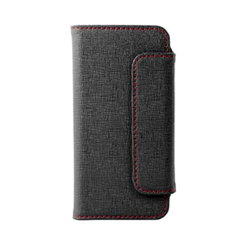 Футляр Verico iPhone 5 Case/Leather/BlackTwill