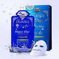 Гидрогелевая маска для лица на основе коллоидного золота с морским комплексом Rearar DiaForce Aqua Blue hydro