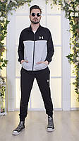 Мужской спортивный костюм из трикотажа-двухнити