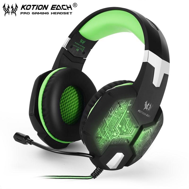 Наушники KOTION EACH G1000 Зеленые