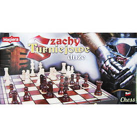 Игра шахматы деревянные подарочные SZ131 MAGIERA (41cm)