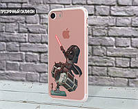 Силиконовый чехол для Sony Xperia XA1 (Darth Vader 2)