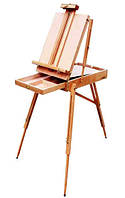 Этюдник с деревянным лотком тип французский