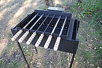 Мангал з електроприводом - Електропривод для мангала на 6 шампурів