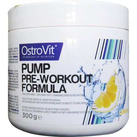 PUMP Pre-Worcout Formula 300 g, фото 2