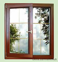 Теплые деревянные окна