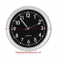 Часы для автомобиля кварцевые люминисцентные