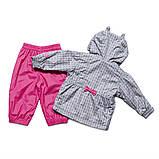 Демисезонный костюм для девочки Peluche S18 M 08 BF Frost Gray. Размер 74-100., фото 2