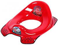 Накладка на унитаз красная, Disney Cars, OKT