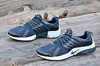 Кроссовки мужские реплика Nike Air Presto Essential темно синие легкие, удобные (Код: Ш1113а)