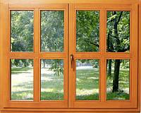 Окна из клееного бруса