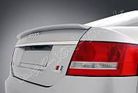 Спойлер сабля тюнинг Audi A6 C6