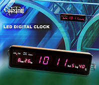 ЛУЧШАЯ ЦЕНА! Настольные электронные часы Led Digital Clock CX-808