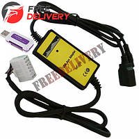 USB AUX MP3 WAV адаптер для магнитолы 5+7пин Toyota, Lexus