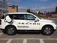 Дефлектора окон SsangYong Rexton 04-, 4ч SIM