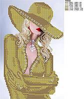 Схема для вишивки бісером Блондинка (голд)