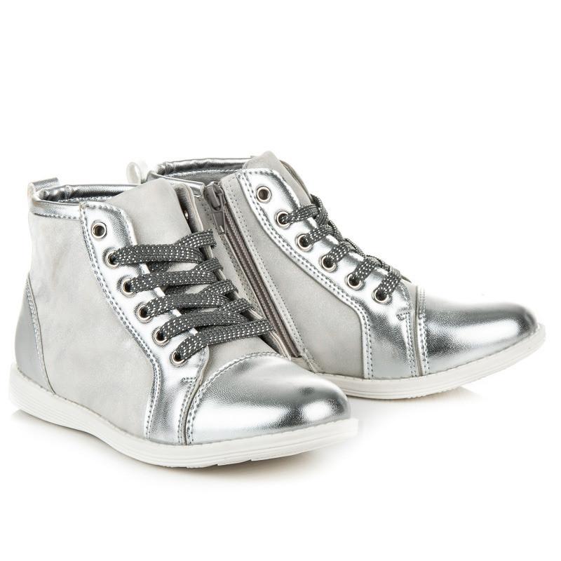 Ботинки детские лаковый носок 5F-DY163601S