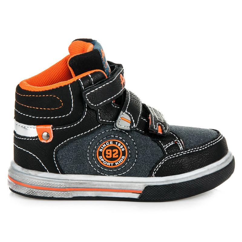 Высокие кроссовки для мальчика K151311B