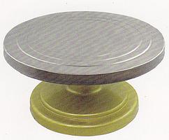 Столик поворотный кондитерский из усиленного пластика 30 см, арт. Э-8990