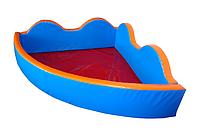 """Детский сухой бассейн для шариков """"Небо"""" MMSB14 1,5 м (размер 150х150х60 см) ТМ Kidigo"""
