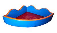 """Детский сухой бассейн для шариков """"Небо"""" MMSB15 2 м (размер 200х200х60 см) ТМ Kidigo"""
