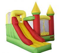 Надувной батут с горкой для детей Magic Castle NBT6210 (нагрузка до 180 кг) негнетатель воздуха, аксессуары ТМ Kidigo