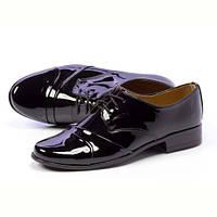 Черные туфли для мальчиков KMK wz83L тапочки