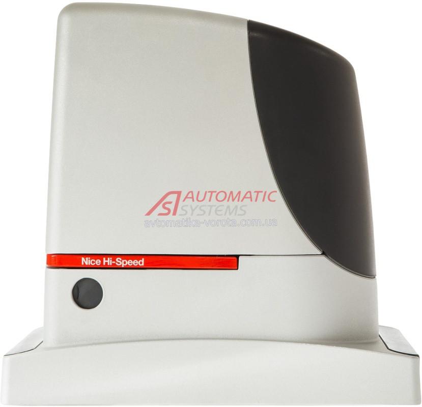 Автоматика для откатных ворот Nice Run 400 HS (скоростная)