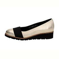 ПОЛЬСКИЕ Золотые туфли-лодочки женские SIMEN 274 KOTURNA