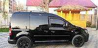 Дефлектора окон Volkswagen Caddy III 2d 2004 Cobra Tuning