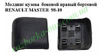 Молдинг кузова  боковой правый бортовой RENAULT MASTER  98-10 (РЕНО МАСТЕР) (7701692577)